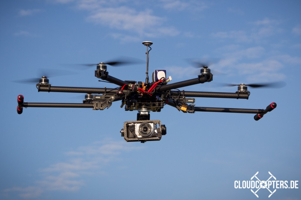 Multicopter von CloudCopters.de
